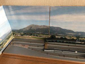 鉄道模型の背景自作
