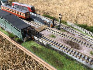 ローカル駅(鉄道模型)