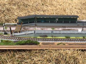 鉄道模型「ローカル駅」