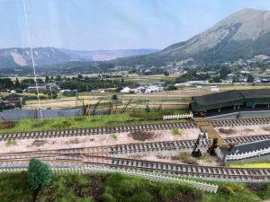 ローカル駅(Nゲージ)ジオラマ