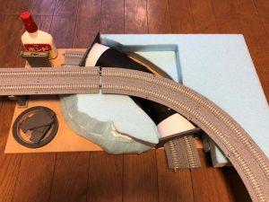 Nゲージのトンネル作り方