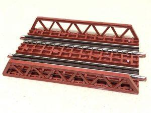 ポニートラス鉄橋(複線に)TOMIX