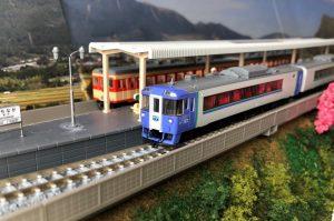 キハ183系特急ディーゼルカー(大雪)セットB (4両)入線 TOMIX98262