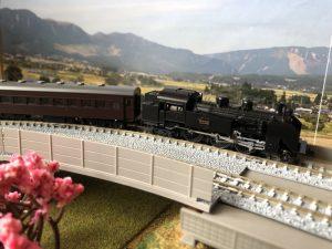 Nゲージの蒸気機関車