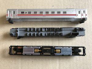 キハ52形に動力ユニット