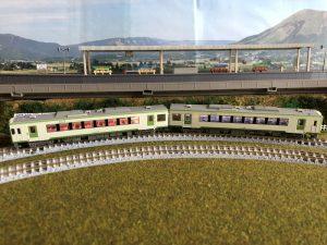 鉄道模型「八高線」