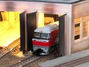 鉄道模型の機関庫