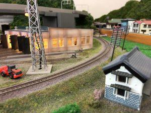 鉄道模型のレイアウト