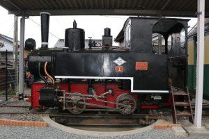 井原笠岡軽便鉄道機関車第1号形蒸気機関車