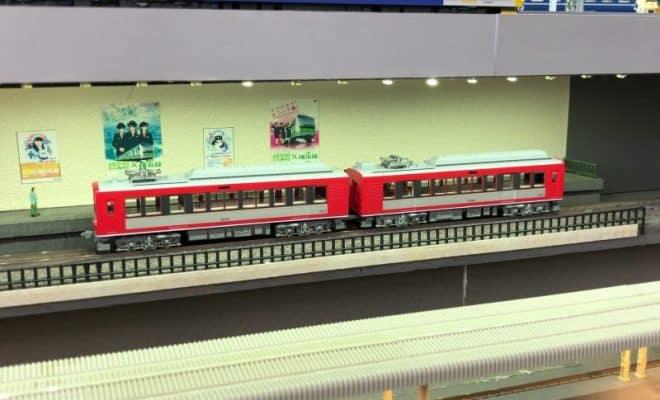 箱根登山鉄道風ジオラマ
