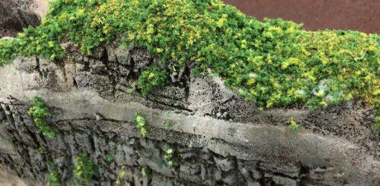 Nゲージ・ジオラマ「岩山」作り方