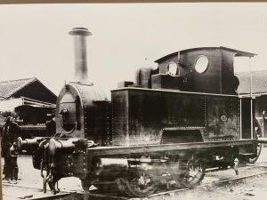 160型蒸気機関車
