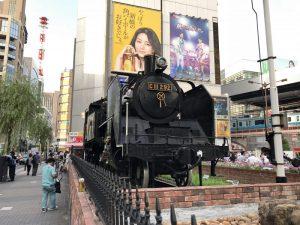 新橋駅のSL広場