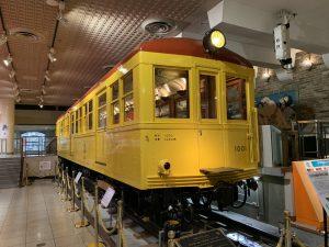 日本初の地下鉄車両1001号車