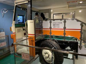 バス運転シュミレーター