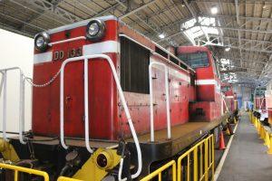 DD13形式ディーゼル機関車