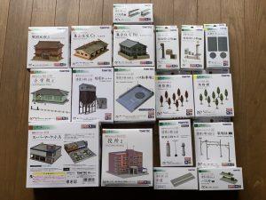 ジオコレの建物コレクション