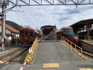 快速「富士登山電車」と富士山ビュー特急