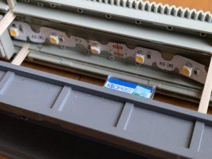 鉄道模型のホーム照明DIY