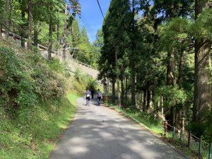 比叡山の参道