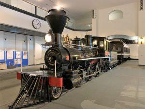 7100形蒸気機関車7106「しづか号」
