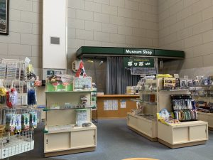 小樽市総合博物館の売店