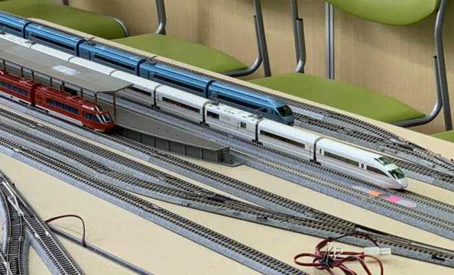 鉄道模型Nゲージ運転会