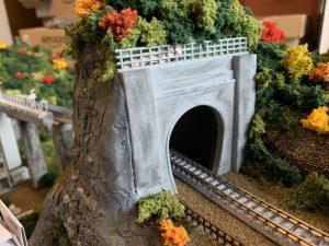 Nゲージのトンネル