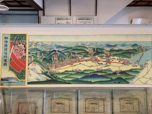 加悦鉄道の路線図