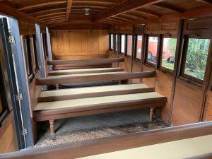 加悦鉄道の客車ハ4995