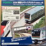TOMIX 5594 車載カメラシステムセット E233 3000系