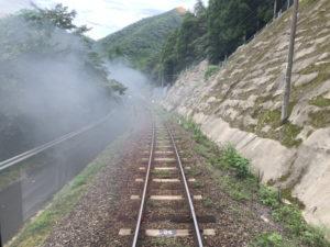 JR肥薩線の線路