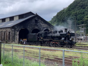 JR九州人吉機関車庫