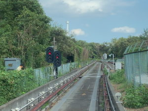 西武鉄道山口線の軌道