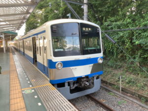 西武遊園地駅・多摩湖線