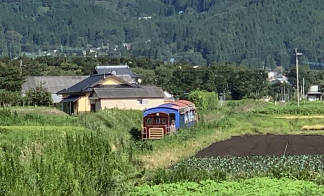 南阿蘇鉄道 トロッコ列車