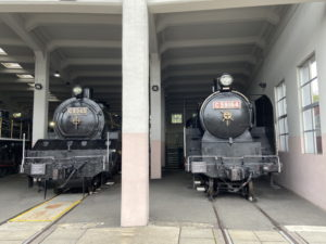 C53形蒸気機関車「C53 45」 C59形蒸気機関車「C59 164」