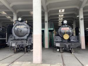 D52形蒸気機関車「D52 468」 C51形蒸気機関車「C51 239」