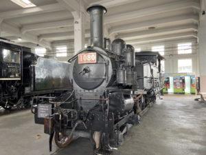 1070形蒸気機関車「1080」