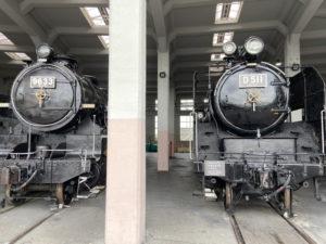 9600形蒸気機関車「9633」 D51形蒸気機関車「D51 1」