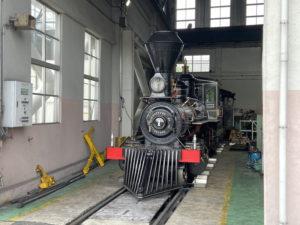 7100形蒸気機関車7105号機 義経号