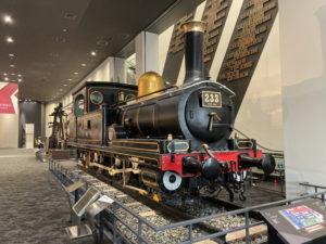 230形蒸気機関車(233号)