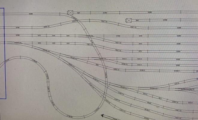 車両基地ジオラマ 分割式モジュール