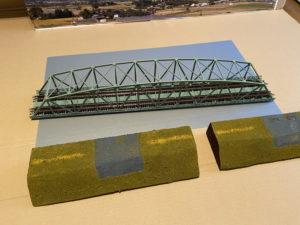 簡単「川」に「鉄橋」Nゲージ