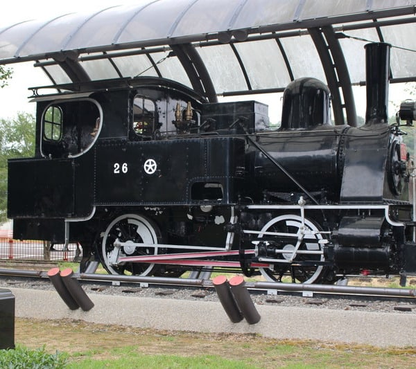 宇佐参宮線26号蒸気機関車