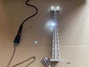 TOMIX 3205 ヤード照明灯(LED) 電源装置アイデア
