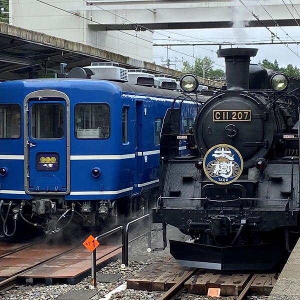 SL大樹 東武鉄道鬼怒川線