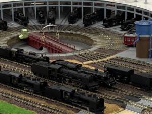 鉄道模型のターンテーブル