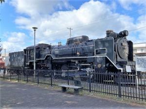 D51 444号蒸気機関車