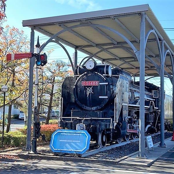 D51形蒸気機関車D51 488